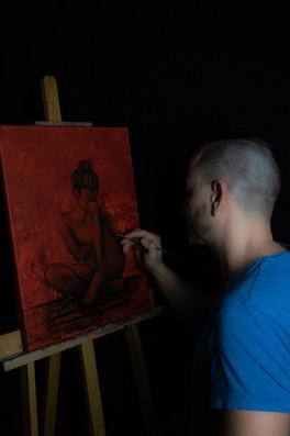Das bin ich - Malerei