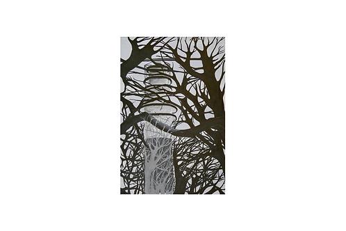 Original - Acrylbild 40x60 cm - Leuchtturm Bülk