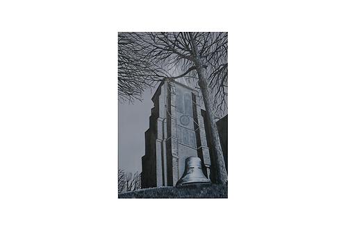 Original - Acrylbild 40x60 cm - Meldorfer Dom
