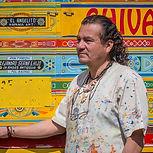 Peintre de chivas de Colombie