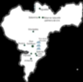 Carte Arménia Colombie