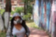 Graffeuse de Medellin