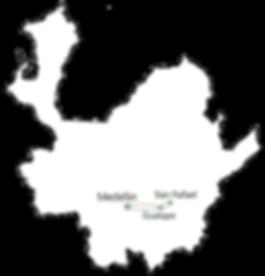 Carte de San Rafael