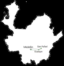 Carte Guatape