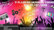 1º Flash do Imperial Vinhedo traz agito para os amantes de flash back