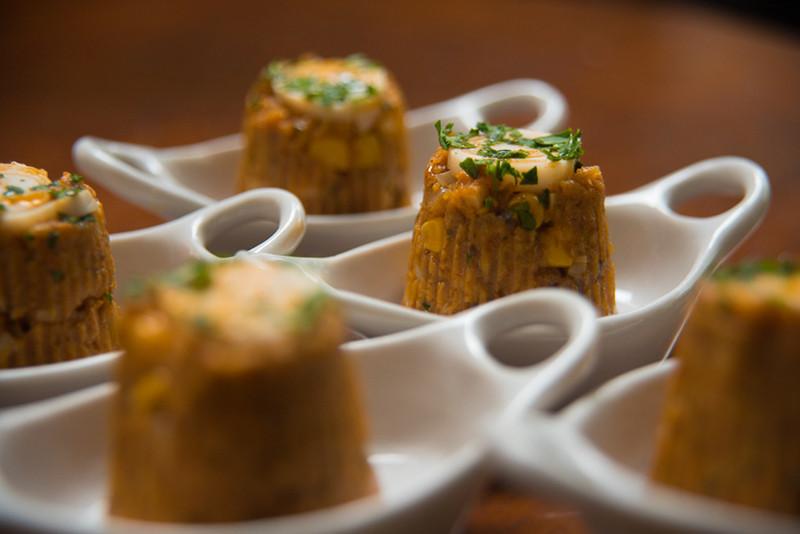 Um dos pratos criados pelo Chef Artur Sauerbronn (Imagem: Acervo Pessoal)