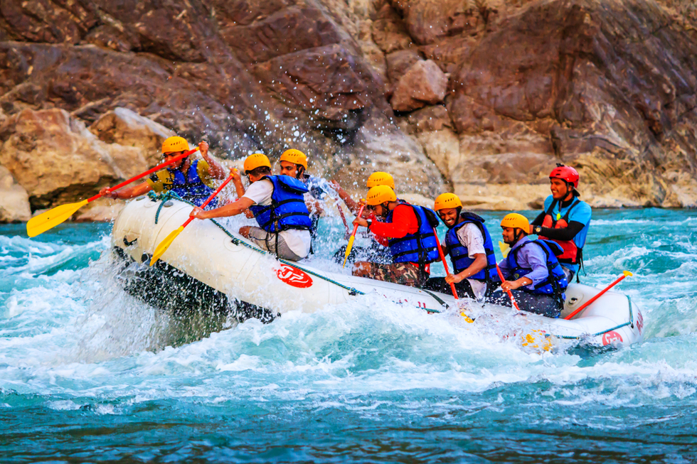 """ Best River Rafting Company in Rishikesh"""
