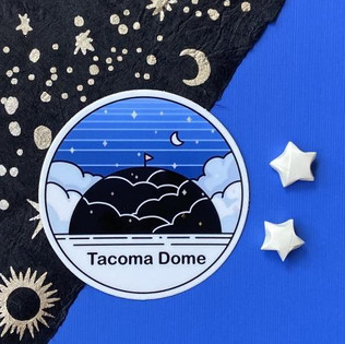 T-Dome Sticker