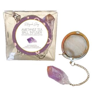 Amethyst Tea Ball Infuser