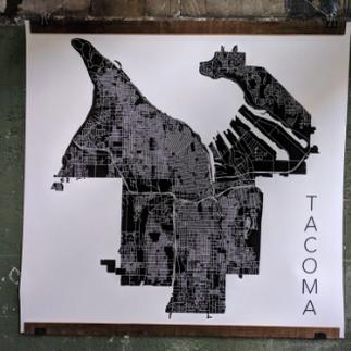 3' Tacoma Map