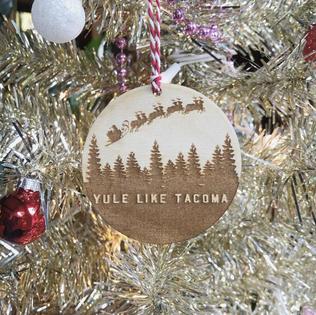 Yule Like Tacoma Ornament