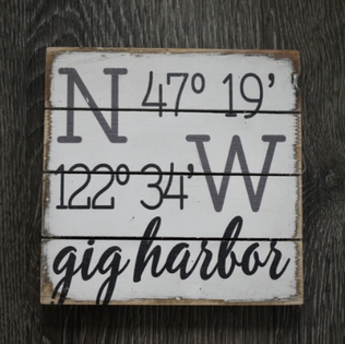 Gig Harbor Sign