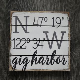 Gig Harbor Sign