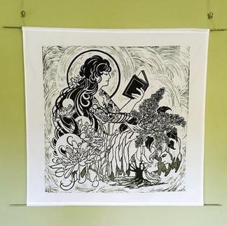 Art Nouveau Tapestry
