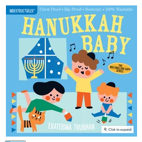 Hanukkah Baby Book