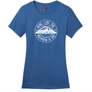 Bike Like the Mountain Is Out Tee