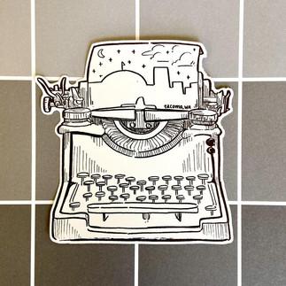 Tacoma Sticker