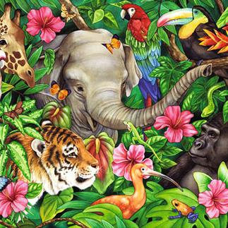 Jungle Puzzle (60 pc)