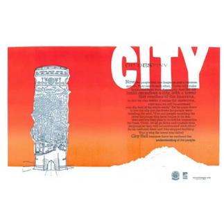 City of Destiny Poster