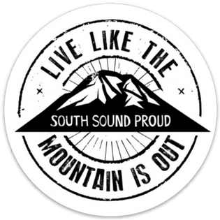 South Sound Proud Sticker