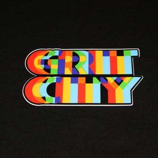 Grit City Sticker