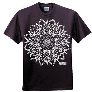 Sri Yantra black T-shirt *sold out*