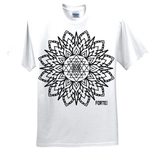 Sri Yantra white T-shirt *sold out*