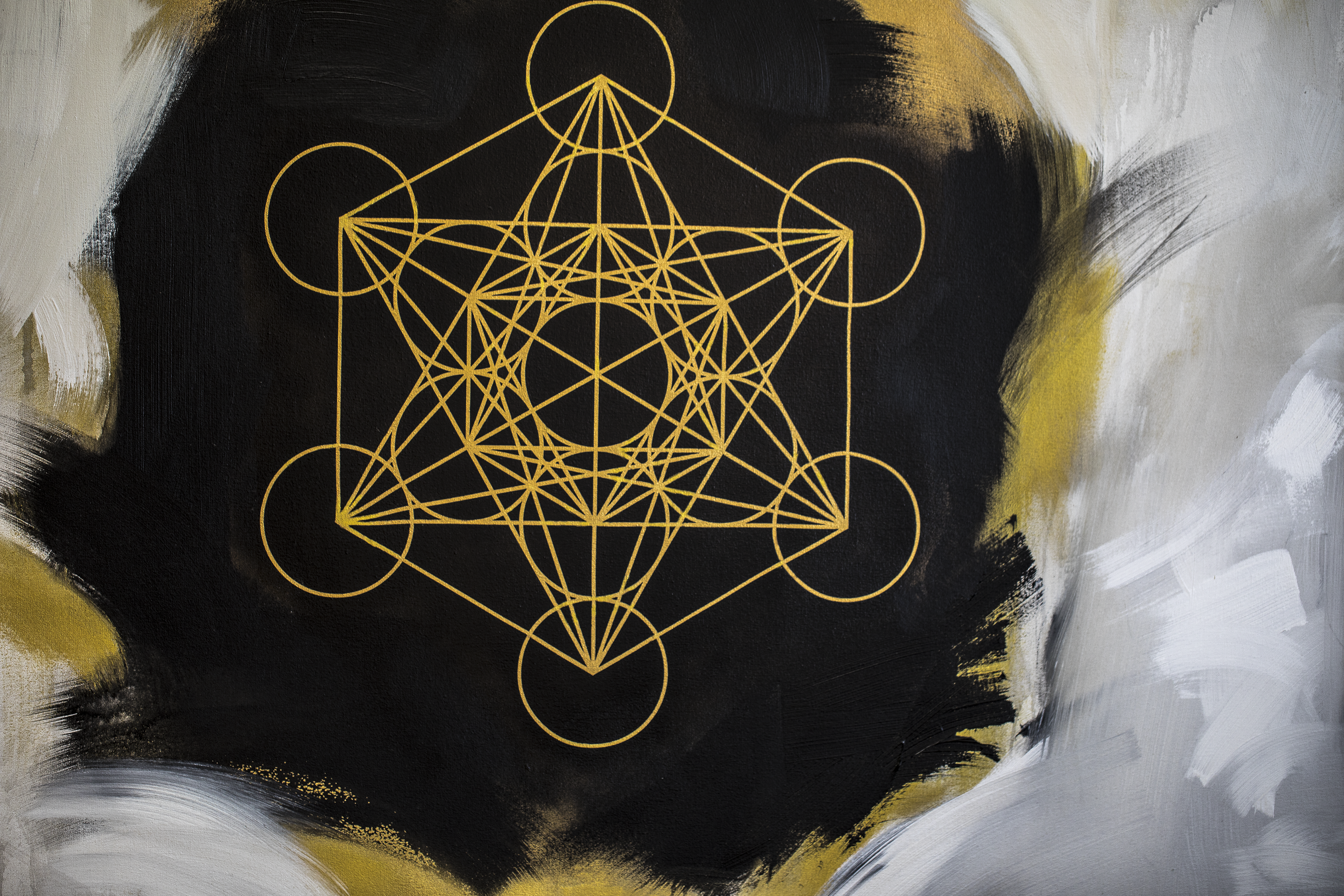 METATRON CUBE DETAIL