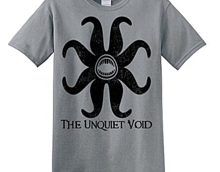 The Unquiet Void Lovecraft Series T-Shirt