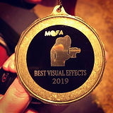 We won best visual FX for out film _The