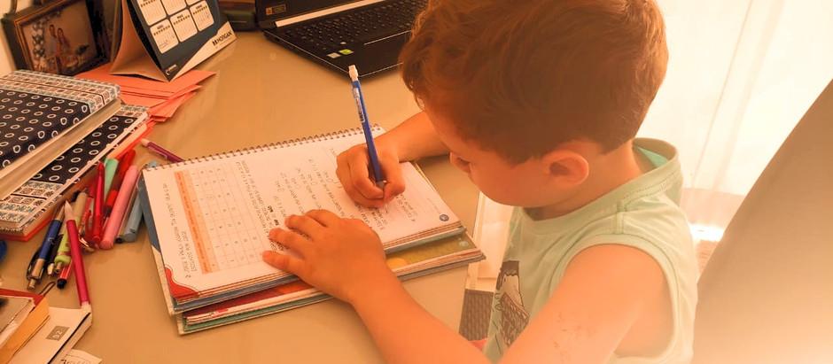 Elimine as dificuldades de fazer a lição de casa com a Disciplina Positiva