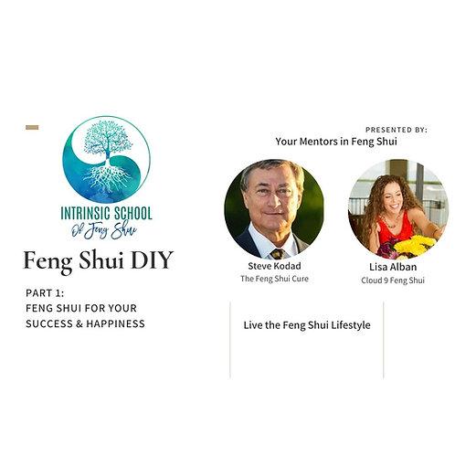 Feng Shui DIY Program: Self-paced