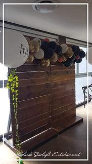 Adelaide StarlightEntertainmenttimber backdorp