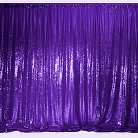 - kids party ideas - photo booth - flower wall -kids birthdays -birthday partys -weddings -Adelaide Starlight Entertainment sequin backdrops -sequin purple