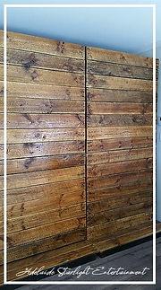 Adelaide StarlightEntertainment timber backdorp