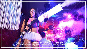 Adelaide Starlight Entertainment Led Co2 Cannon