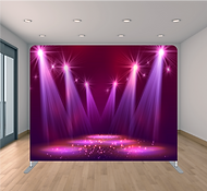 Adelaide Starlight Entertainment Pillow Case Tension Fabric Backdrop