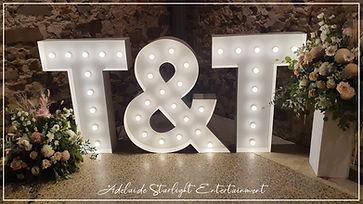 Adelaide Starlight Entertainment Led letters