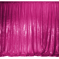 - kids party ideas - photo booth - flower wall -kids birthdays -birthday partys -weddings -Adelaide Starlight Entertainment sequin backdrops -sequin hot pink