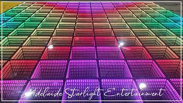 Adelaide Starlight Entertainment 3D mirror dance floor