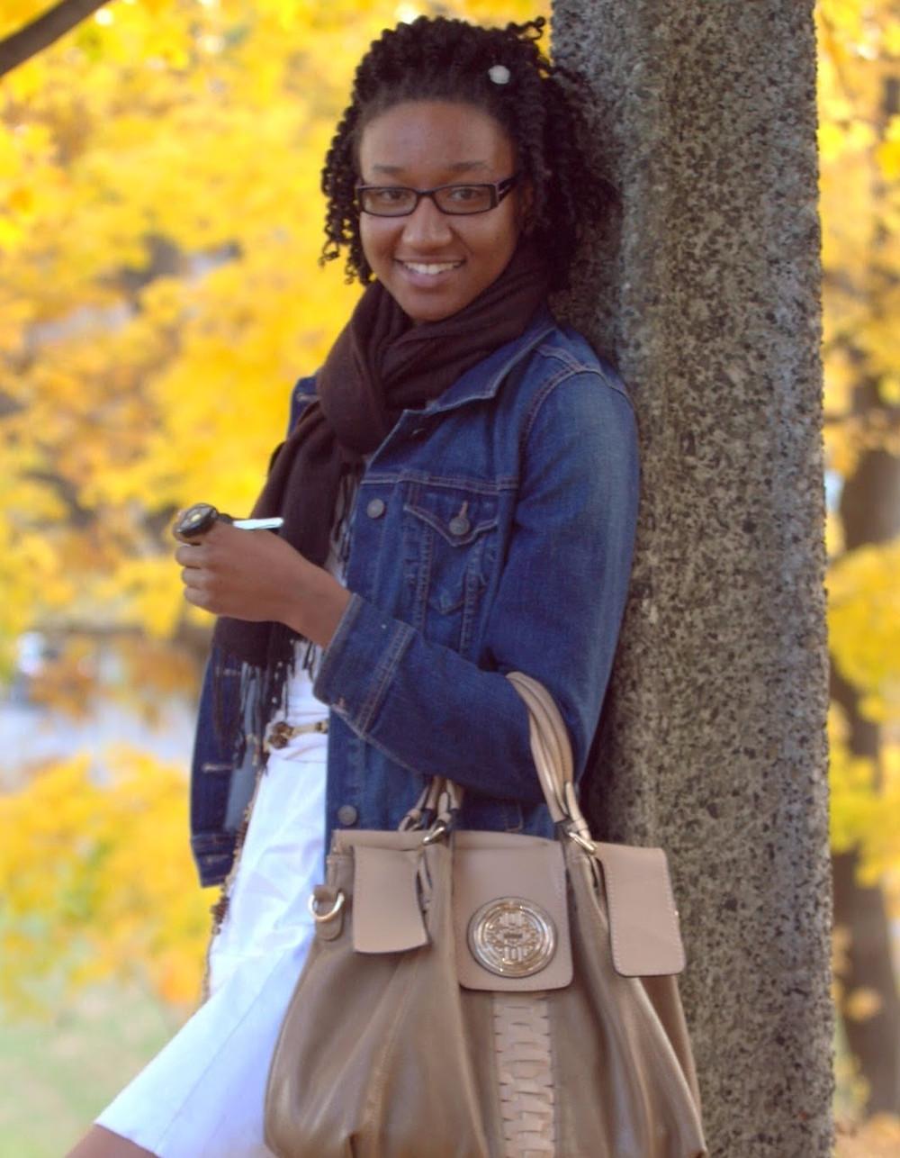 Michelle Lafleur.  Etudiante à l'univeristé d'Ottawa