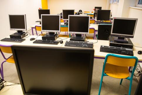 Salle informatique, Site Schlumberger