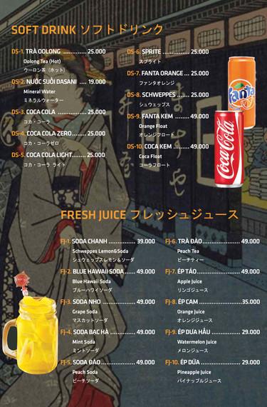 Soft Drink & Fresh Juice