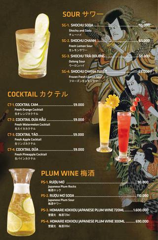 Sour, Cocktail, Plum wine