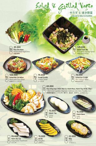 Salad & Grilled Veggie