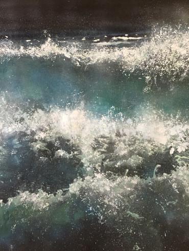 "Detail of ""Atlantic Expression"". Long Island, New York"
