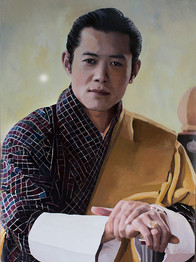 Jigme Khesar Namgyel Wangchuck. The King of Bhutan