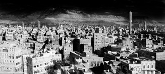 0060_Across The Old City, Sana'a. Yemen.