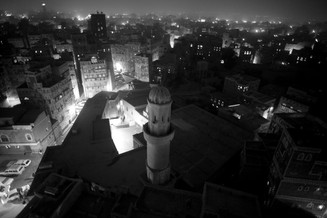 0046_Sana'a at night from Burj Al Salam.