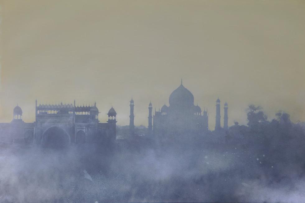 Dawn. Taj Mahal, India